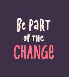 Be Part of the Change Image